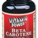 Beta Carotene Softgel Capsules-25,000 IU/Capsule--100 Ct (#2814R)