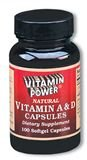 Vitamin A and D Softgel Capsules--100 Ct   (#200R)