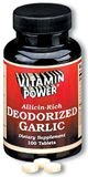 Deodorized Garlic Tabs (Pure-Gar)--100 Ct  (#3068R)