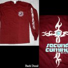 XL - Second Coming/Cross - Maroon