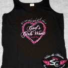 XL - Womens - It's Not That Goods Girls Don't - God's Girls Won't - Heart For Jesus - Tank Top