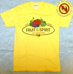 2XL - God Wants Fruit Of The Spirit Not Christian Nuts