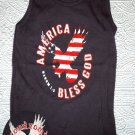 S - God Bless America Tank Top