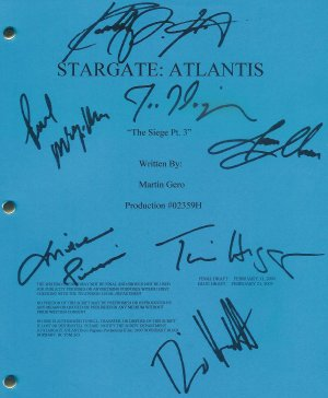 STARGATE ATLANTIS SCRIPT