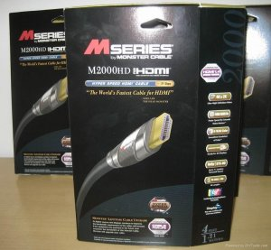 Monster HDMI cable M2000 8FT NIB