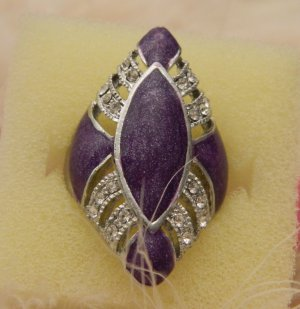 Purple is the name of the game ring !