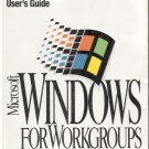 Microsoft Windows For WorkGroups User's Guide / Version 3.11