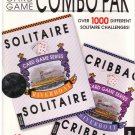 Combo Pak -- Over 1000 Different Solitare Games; 48 Cribbage games