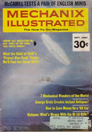 1967 September issue Mechanix Illustrated