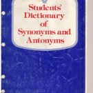 Students' Dictionary of Synonyms and Antonyms