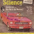 Popular Science Magazine -- May 1964