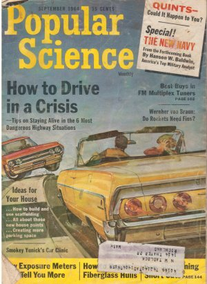 Popular Science Magazine -- September 1964