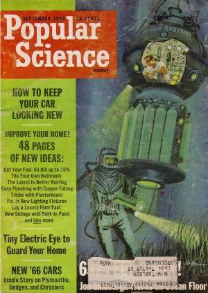 Popular Science Magazine -- September 1965