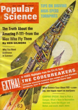 Popular Science Magazine -- May 1968