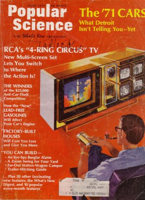Popular Science Magazine -- June 1970