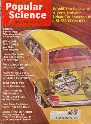 Popular Science Magazine -- August 1970