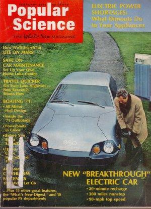 Popular Science Magazine -- February 1971