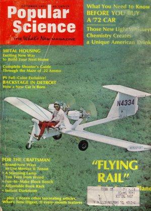 Popular Science Magazine -- October 1971