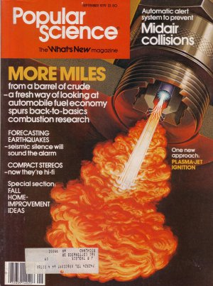 Popular Science Magazine -- September 1979