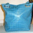 crocodile pattern purse
