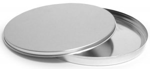 COMPACT DISC ALUMINUM TIN - 5 PACK