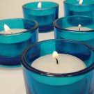 BLUE TEALIGHT CANDLE HOLDER