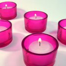 PINK TEALIGHT CANDLE HOLDER