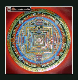 Kalachakra Mandala Thangka