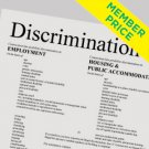 Compliance Poster: Discrimination is Illegal [member price]