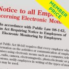 Compliance Poster: Electronic Monitoring [member price]