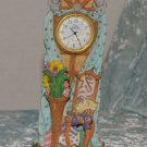 Adorable Time Avenue Quartz Mantel Knick knack Desk Clock resin