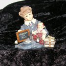 * Boyd's Yesterday's Child - Dollhouse Collection - Reading is Fun Girl and Doll