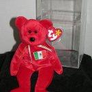 Beanie Baby International Bear - Osito - 1999 - hologram tush - Mexico TY
