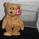 TY Beanie Baby Cashew Bear- 2000 Hologram tag - Ready for the hunt! Mint