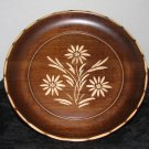 Rare REUGE Carved Wood w/ inlays Rotating Plate Swiss Music box The Emperor Walt