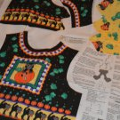 Daisy Kingdom Halloween Kids Scaredy Cat Vest Sew Project Sizes 2- 8