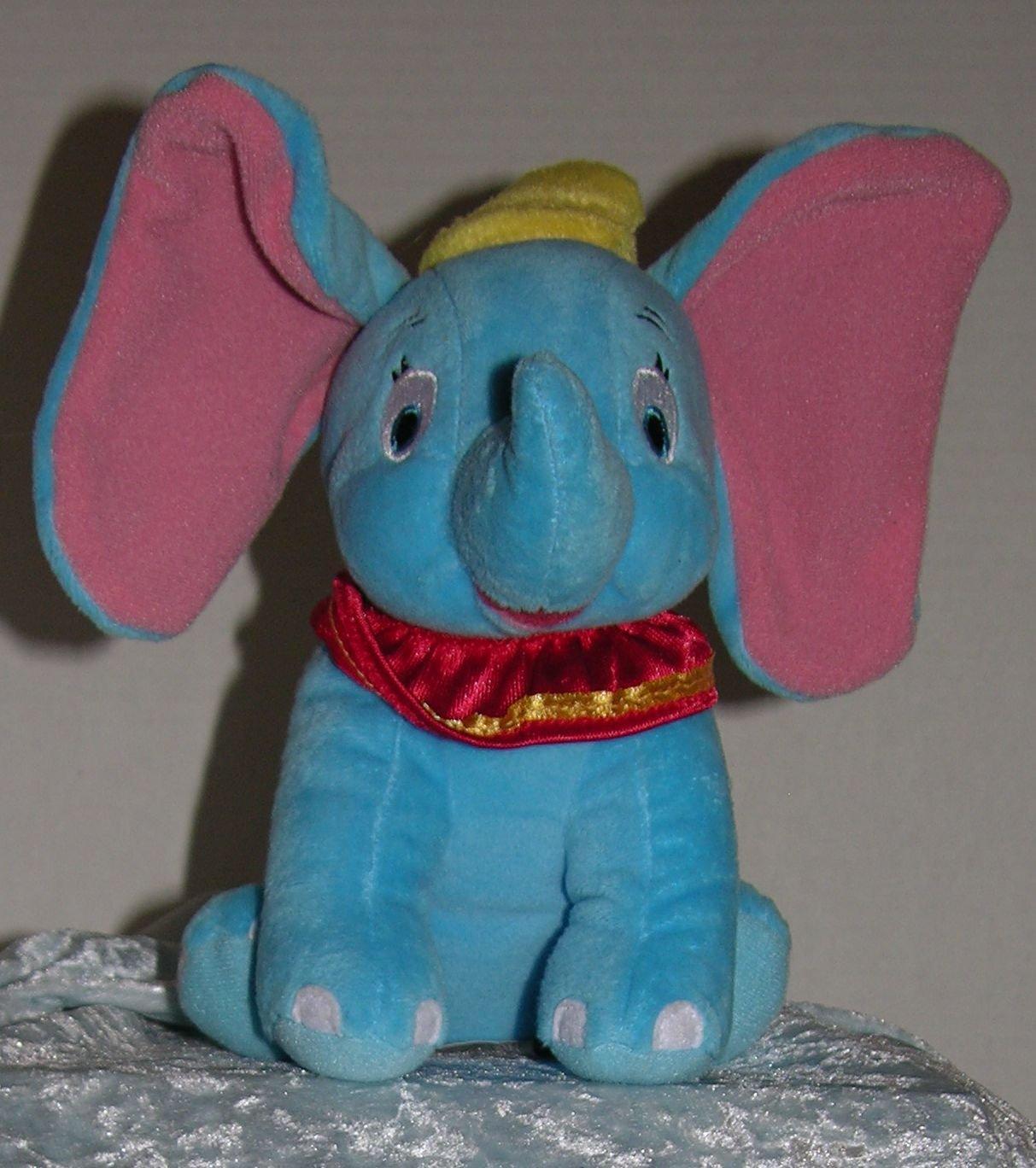 "* Disney's Dumbo Soft Plush Toy 7 1/2"" Stuffed"