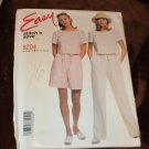 McCall's 8204 Easy Stitch 'n Save Shorts Pants Shirt Size B