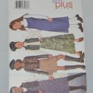Butterick 3271 Skirt Dress Vest Girls + 7 8 10 12 14