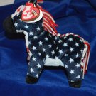 Ty Beanie Baby Lefty - Show Your Party's support with this Donkey 2000 - USA