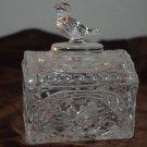 HofBauer Byrdes Dome Top Lid Clear Crystal Trinket Box