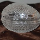 Avon's Mother's Day  Fostori Glass Egg 1977 Trinket box Egg Only Easter