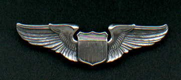 1. US Air Force Pilot Wings  USAF