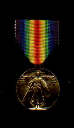 WWI Victory Military Award medal
