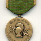WAC WOMENS ARMY CORPS MEDAL WITH RIBBON BAR