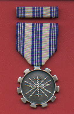 US Air Force Achievement medal with ribbon bar