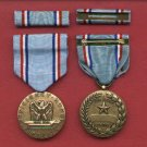 US Air Force Good Conduct medal with ribbon bar