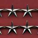 Pair of Four Star General's rank insignia