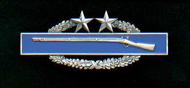 Combat Infantry Badge 3rd Award