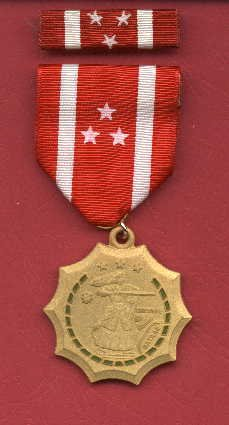 WWII Philippine Defense medal with ribbon bar